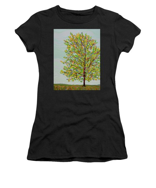 Ellie's Tree Women's T-Shirt (Athletic Fit)