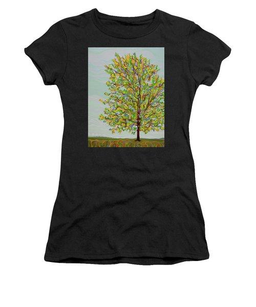 Ellie's Tree Women's T-Shirt (Athletic Fit)