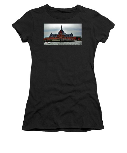 Communipaw Terminal No. 49 Women's T-Shirt (Athletic Fit)