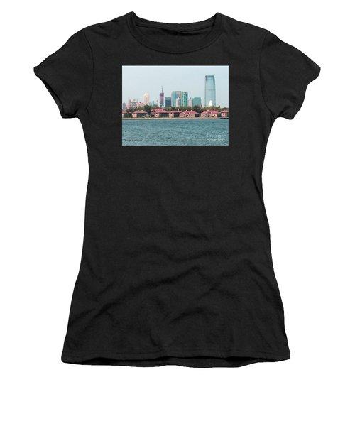 Ellis Island And Nyc Women's T-Shirt