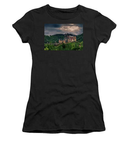 Eltz Castle Women's T-Shirt (Athletic Fit)
