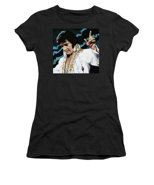 Elvis - How Great Thou Art Women's T-Shirt (Athletic Fit)