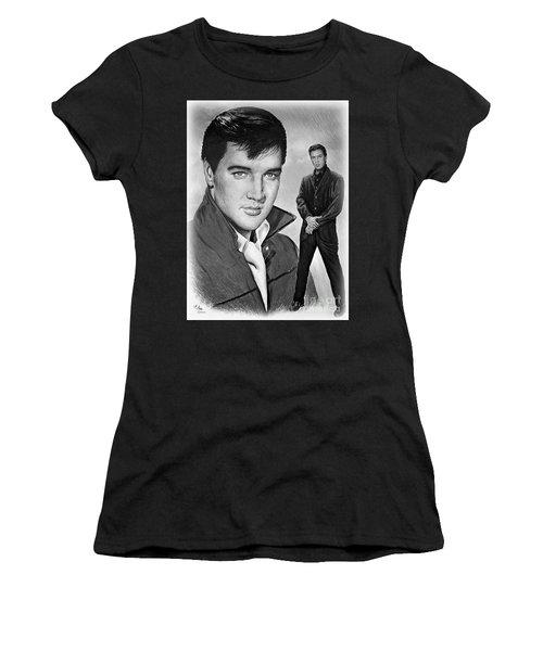 Elvis Roustabout Women's T-Shirt (Athletic Fit)