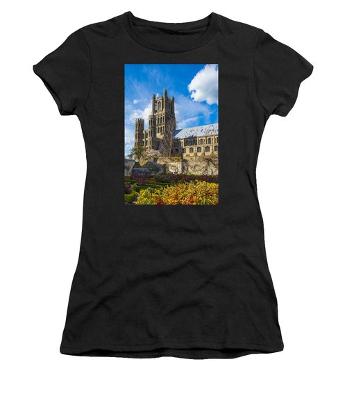 Ely Cathedral And Garden Women's T-Shirt