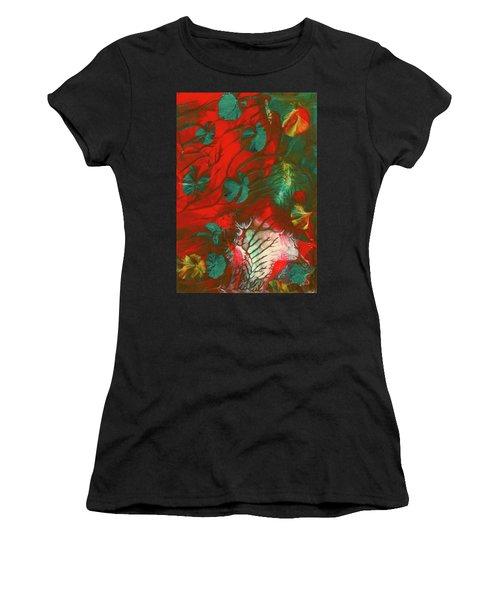 Emerald Butterfly Island Women's T-Shirt