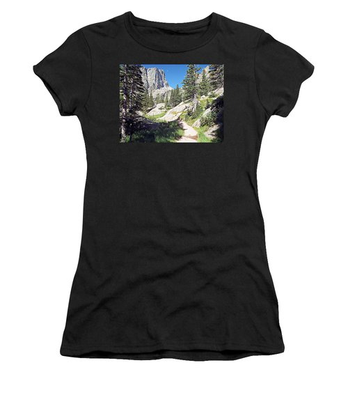 Emerald Lake Trail - Rocky Mountain National Park Women's T-Shirt