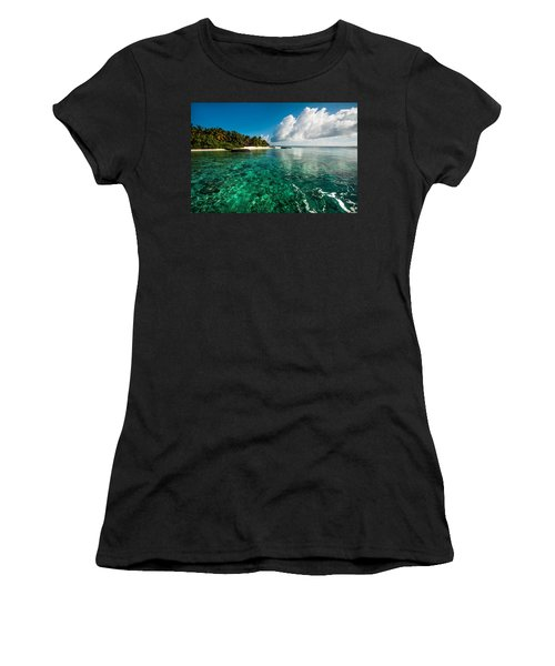 Emerald Purity. Maldives Women's T-Shirt