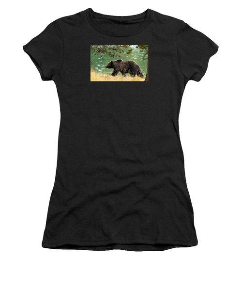 Emerald Stroll Women's T-Shirt (Athletic Fit)