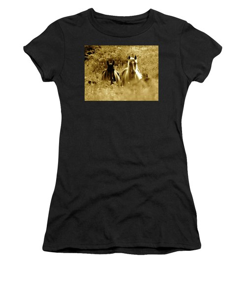 Emerging From The Farm Women's T-Shirt