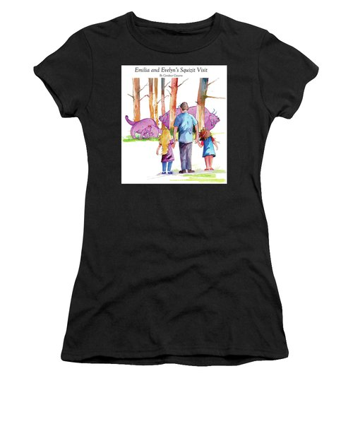 Emilia And Evelyn's Squizit Visit Women's T-Shirt