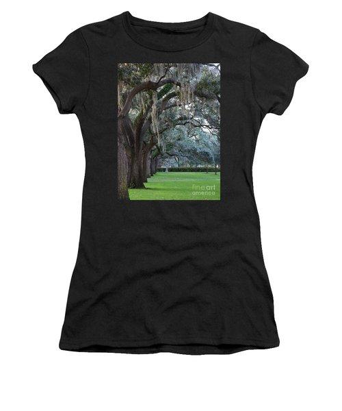 Emmet Park In Savannah Women's T-Shirt (Athletic Fit)