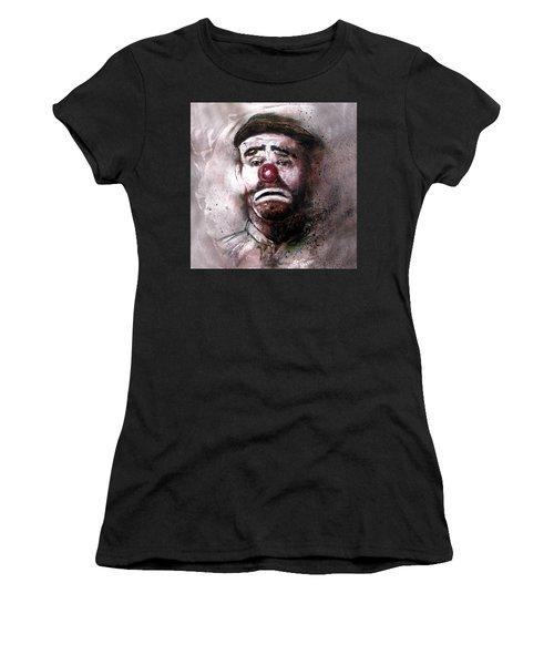 Emmit Kelly Clown Women's T-Shirt (Athletic Fit)