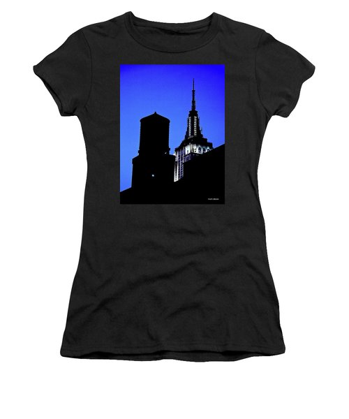 Empire State Building Women's T-Shirt (Athletic Fit)