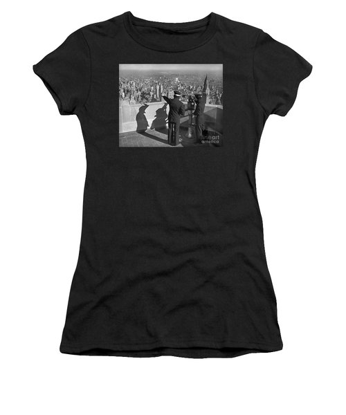 Empire State Lookout  Women's T-Shirt