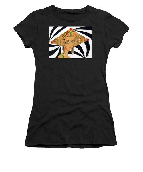 Empress Exotica -- Whimsical Exotic Woman Women's T-Shirt (Athletic Fit)