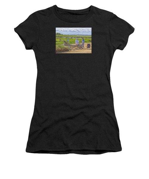 En Plein Air  Cape Cod Women's T-Shirt (Athletic Fit)