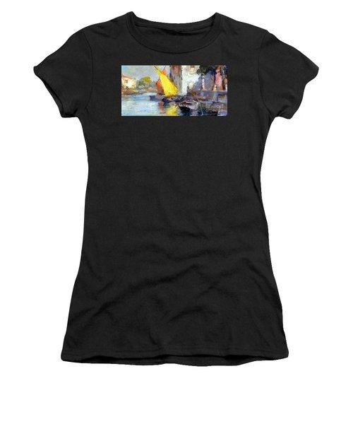 En Plein Air In Venice Women's T-Shirt