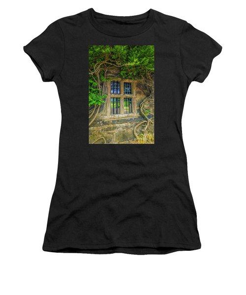 Enchanting Window Women's T-Shirt (Athletic Fit)