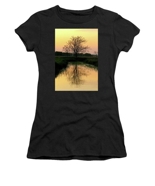 End Of Day Women's T-Shirt (Athletic Fit)