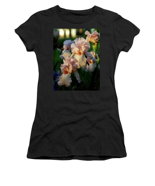 End Of Day Pink Irises 6702 H_2 Women's T-Shirt