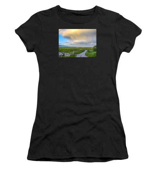 End Of The Road, Brora, Scotland Women's T-Shirt (Athletic Fit)
