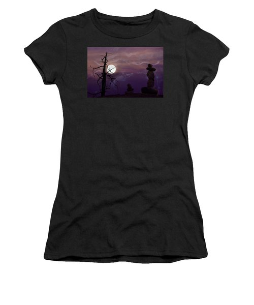 End Of Trail Women's T-Shirt (Athletic Fit)