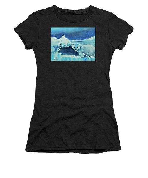 Endangered Bears Women's T-Shirt (Athletic Fit)