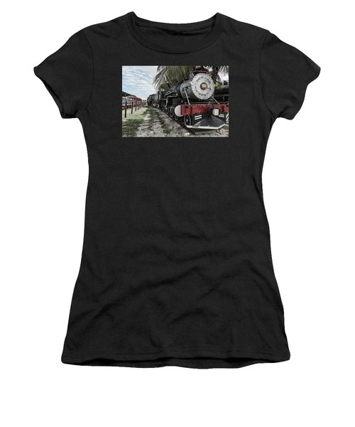 Engine 1342 Parked Women's T-Shirt