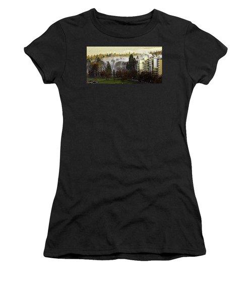 English Bay Fog #2 Women's T-Shirt