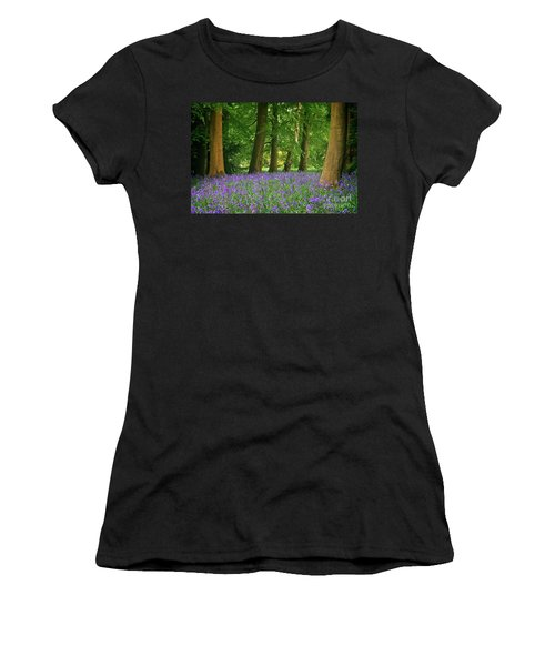 English Bluebell Woodland Women's T-Shirt