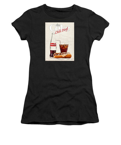 Enjoy Coca-cola With Chili Dog Women's T-Shirt