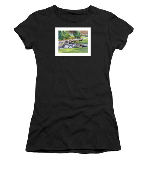 Ensign - Bickford Waterfall Women's T-Shirt (Athletic Fit)