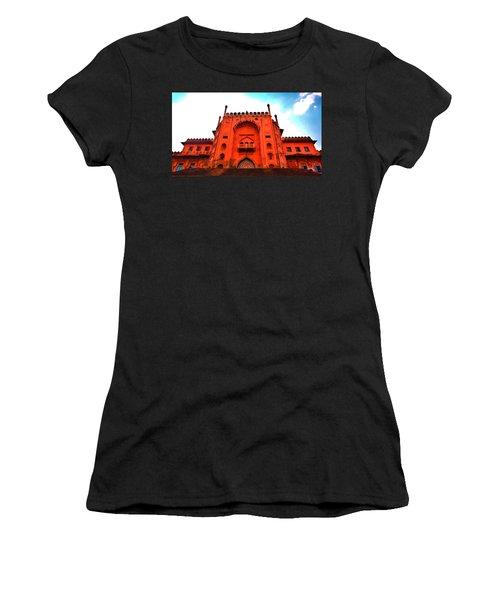 #entrance Gate Women's T-Shirt (Athletic Fit)