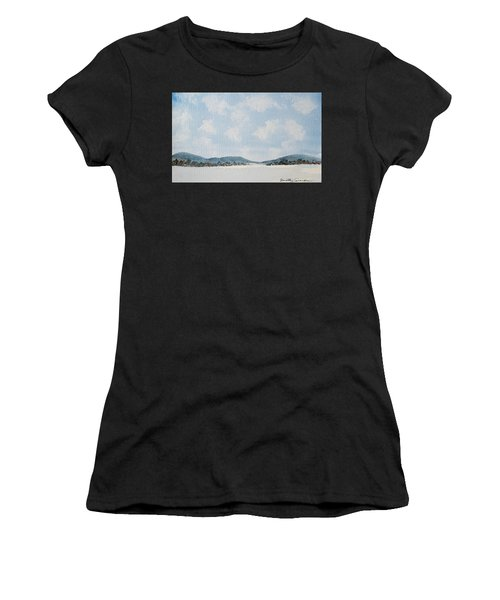 Entrance To Moulters Lagoon From Bathurst Harbour Women's T-Shirt