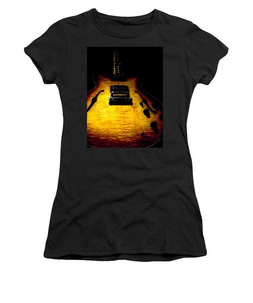 Es-335 Dots Flame Burst Spotlight Series Women's T-Shirt