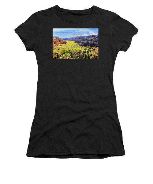 Escalante Canyon Women's T-Shirt (Athletic Fit)