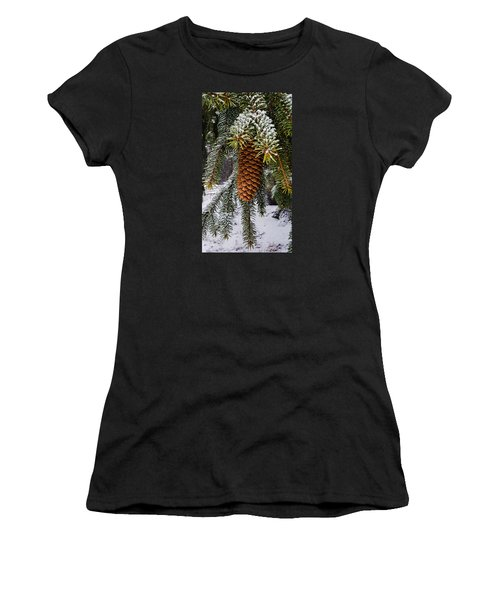 Essence Of Winter  Women's T-Shirt (Athletic Fit)