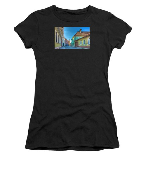 Esztergom Pastels Women's T-Shirt (Athletic Fit)