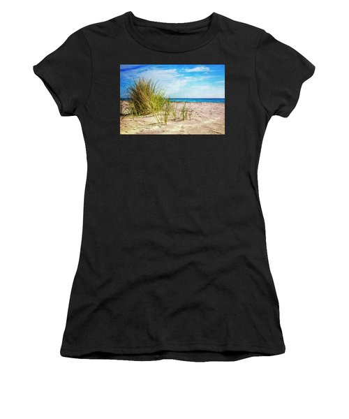 Etchings In The Sand Women's T-Shirt