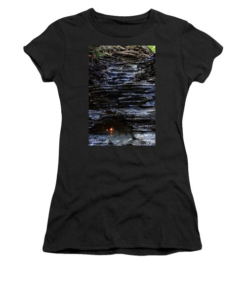 Eternal Flame Falls Women's T-Shirt (Athletic Fit)