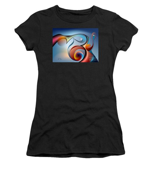 Eternal Movement - Wrapping Women's T-Shirt (Athletic Fit)