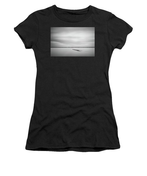 Ethereal Long Exposure Of A Pier In The Lake Women's T-Shirt