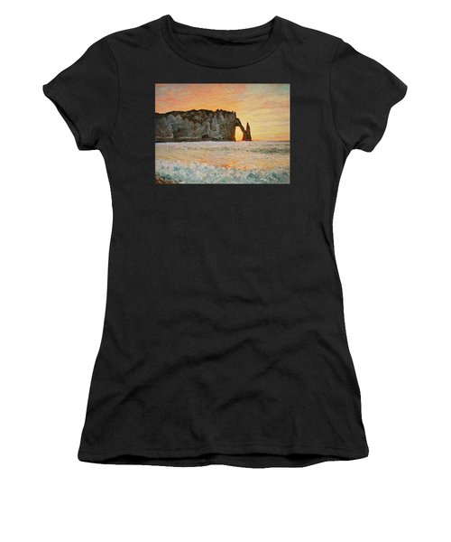 Etretat, Sunset  Women's T-Shirt