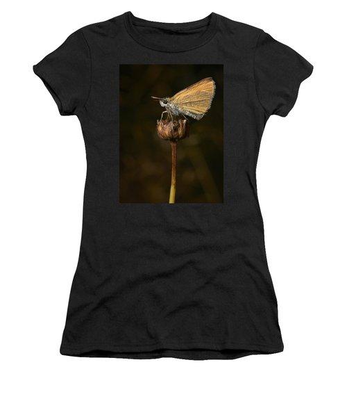 Women's T-Shirt (Junior Cut) featuring the photograph European Skipper by Jouko Lehto