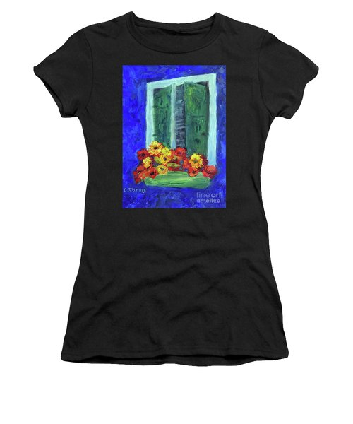 European Window Box Women's T-Shirt