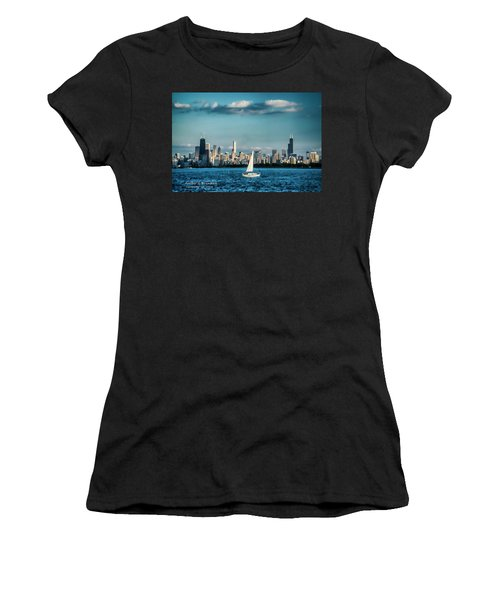 Evan's Chicago Skyline  Women's T-Shirt