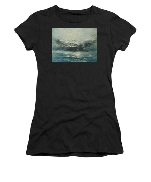 Even If The Skies Get Rough Women's T-Shirt (Junior Cut) by Jane See
