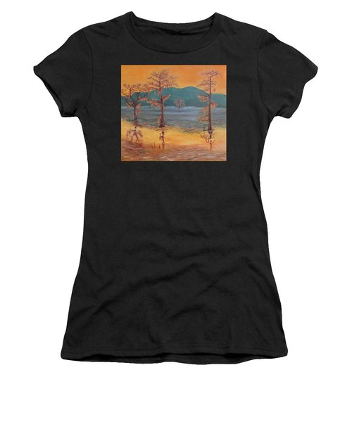 Evening On Caddo Lake Women's T-Shirt