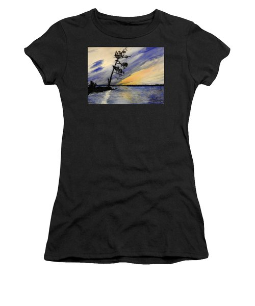 Evening At Petrie Island Women's T-Shirt (Athletic Fit)