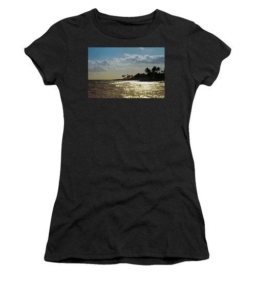 Evening At Poipiu Kauai Women's T-Shirt (Athletic Fit)